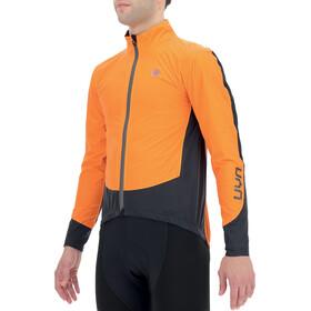 UYN Giacca Packable Regular Fit Uomo, arancione/nero